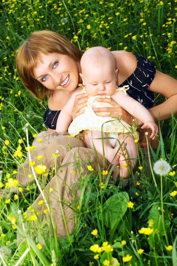 Download Mother And Baby Royalty Free Stock Image - Image: 2313916