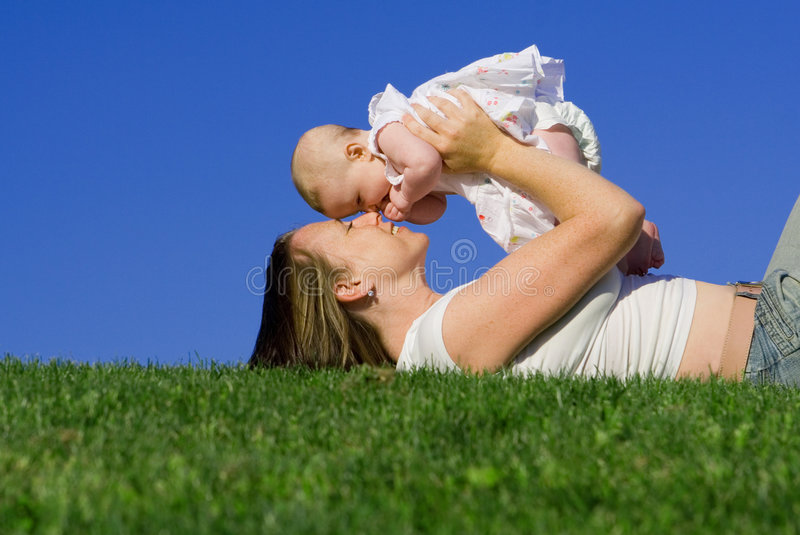 Mother and baby. Family love, mother parent or mum holding baby