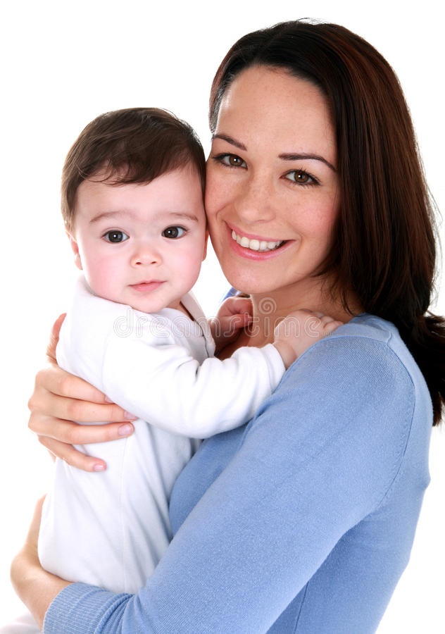 Download Mother and baby stock image. Image of caucasian, enjoying - 24725527