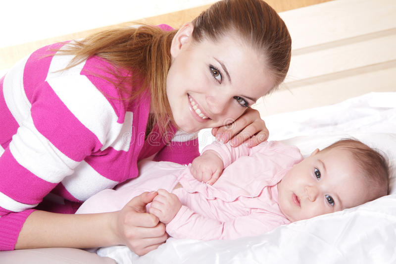 Download Mother And Baby At Home Stock Images - Image: 24119974