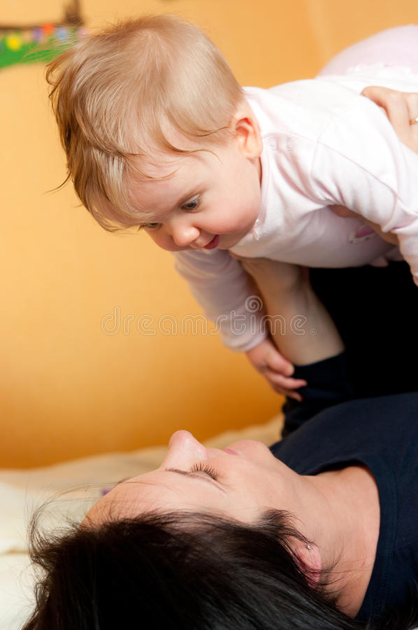 Download Mother and baby play stock image. Image of mummy, mother - 17311333