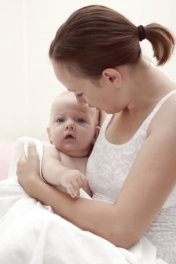 Mother care royalty free stock image