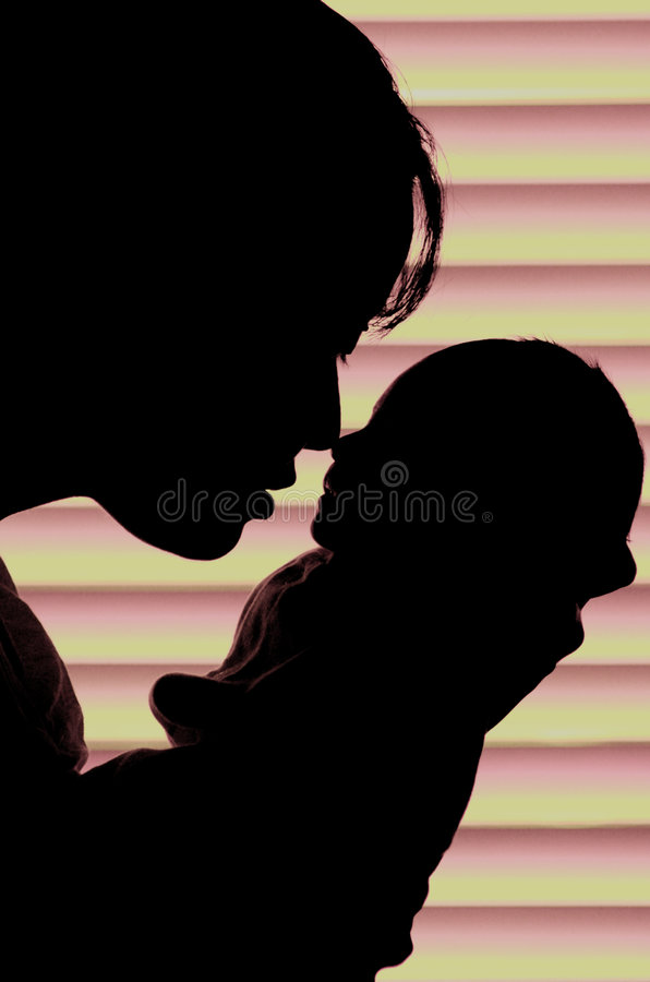Mother and child stock photo