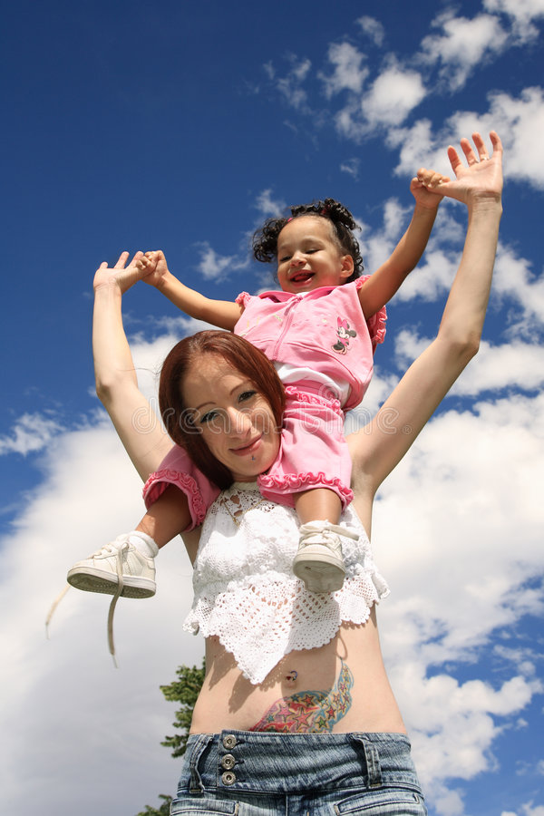 Download Mother and Child stock image. Image of black, daughter - 3278899