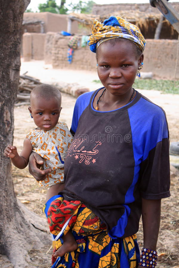 Mother and child in Africa