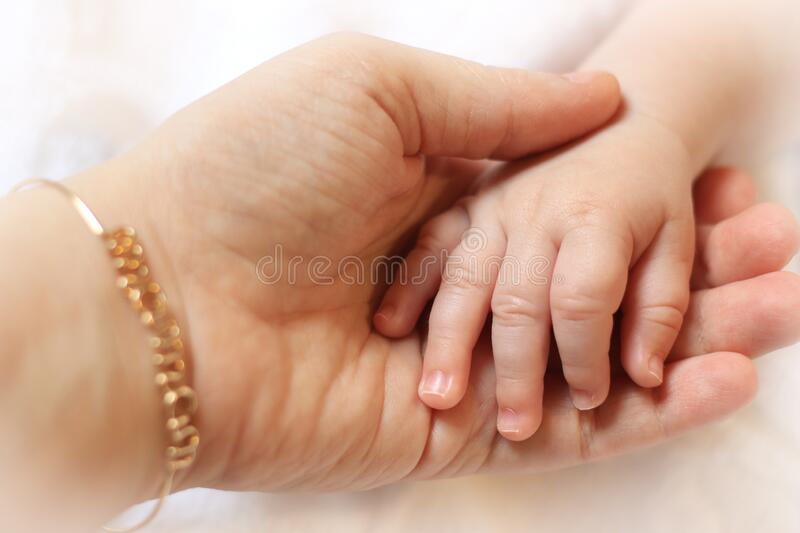 Mother and Child Bond stock photography