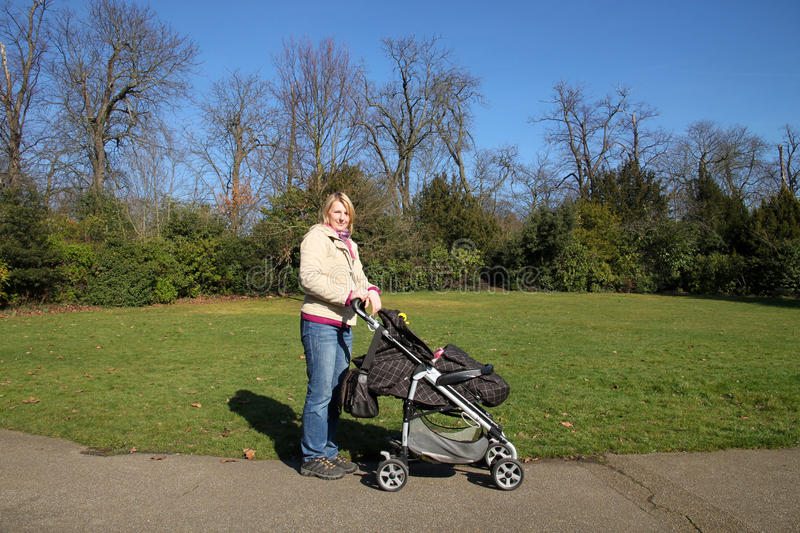 Download Mother With Child In The Park Stock Photo - Image: 24627448