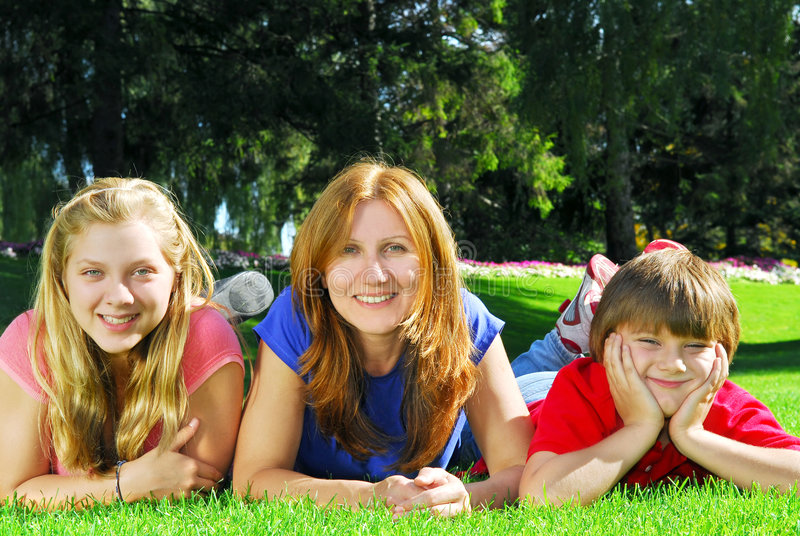 Download Mother And Children Royalty Free Stock Images - Image: 3454539