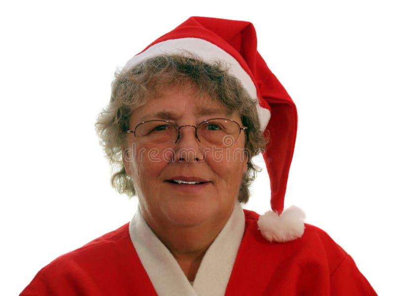 Mother Christmas stock image