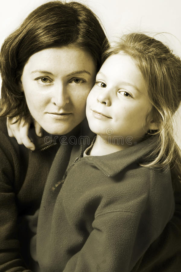 Download Mother and daughet stock photo. Image of daughter, together - 13775544