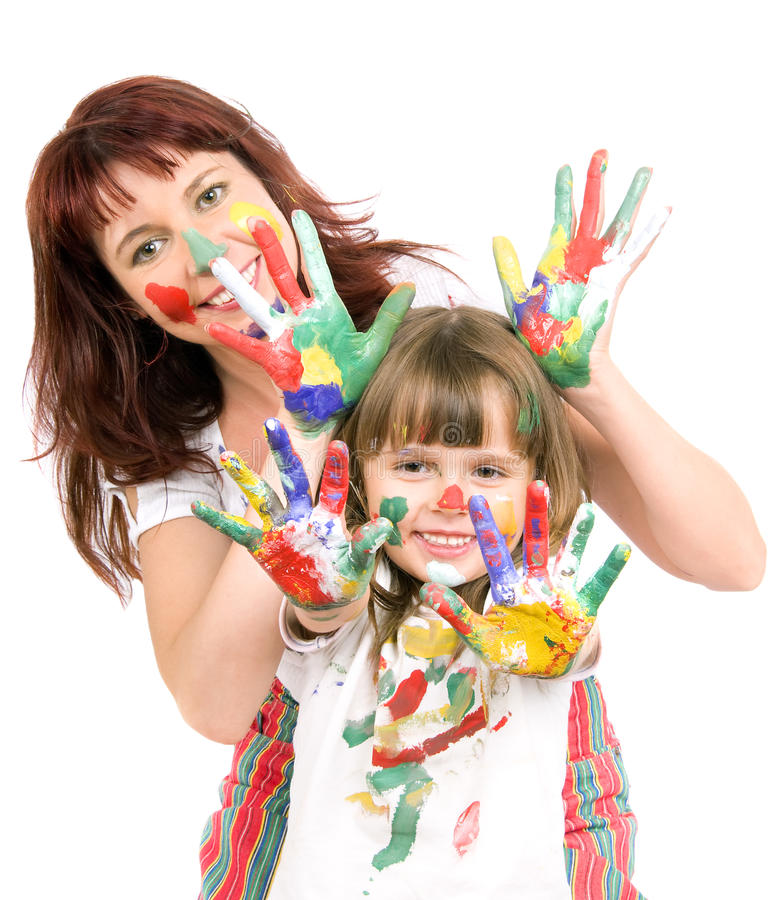 Download Mother  with  daughter stock photo. Image of happiness - 10388762