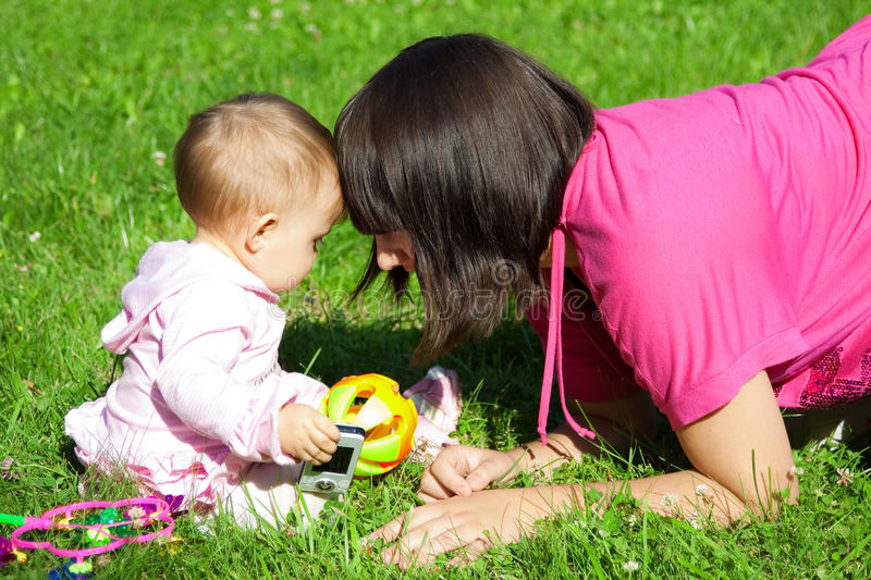Download Mother and daughter stock image. Image of parent, childhood - 11055835