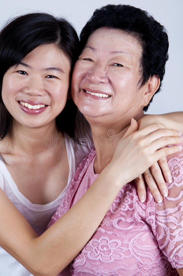 Download Mother & Daughter stock image. Image of chinese, around - 11522031