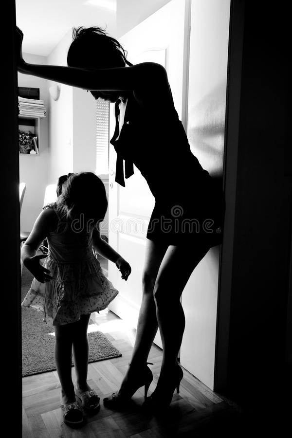 Download Mother and daughter stock image. Image of lady, child - 13384633