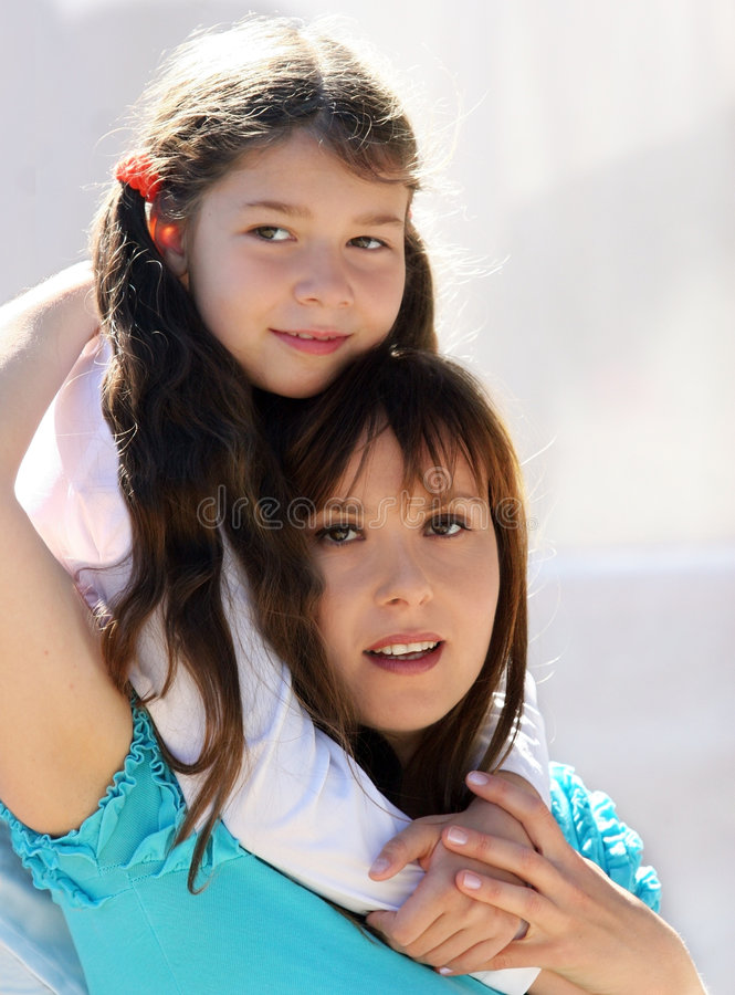 Download Mother and daughter stock image. Image of moment, love - 1407701