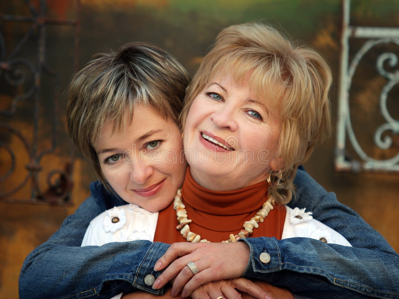 Download Mother and daughter stock image. Image of leisure, laughing - 1462937