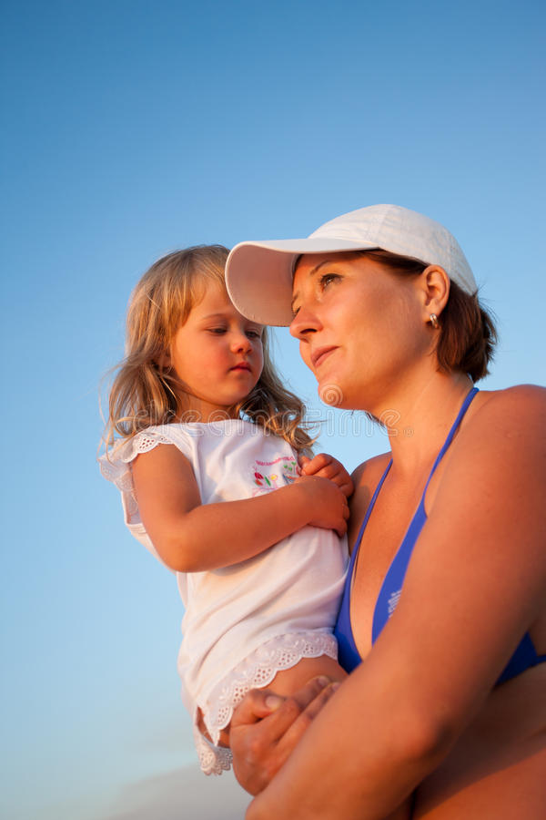 Download Mother and daughter stock photo. Image of woman, children - 14861312