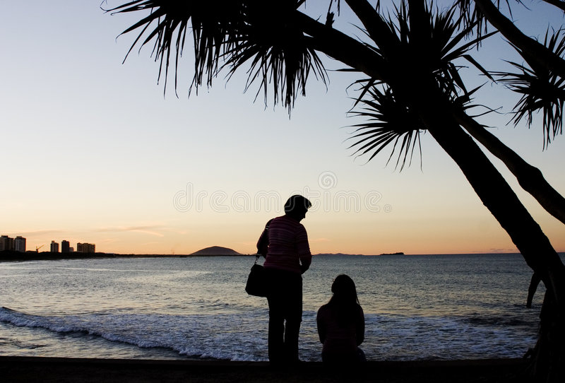 Download Mother & Daughter stock photo. Image of serene, mountain - 156854