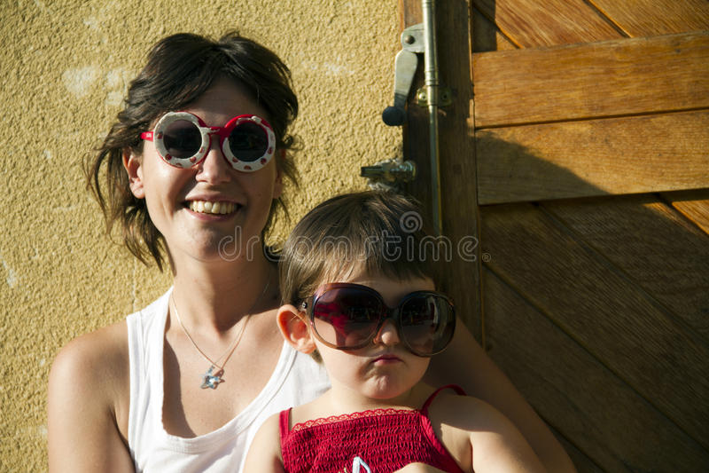 Download Mother and daughter stock photo. Image of mother, dress - 15880176