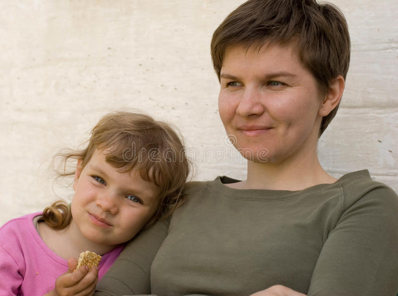 Mother And Daughter Royalty Free Stock Images