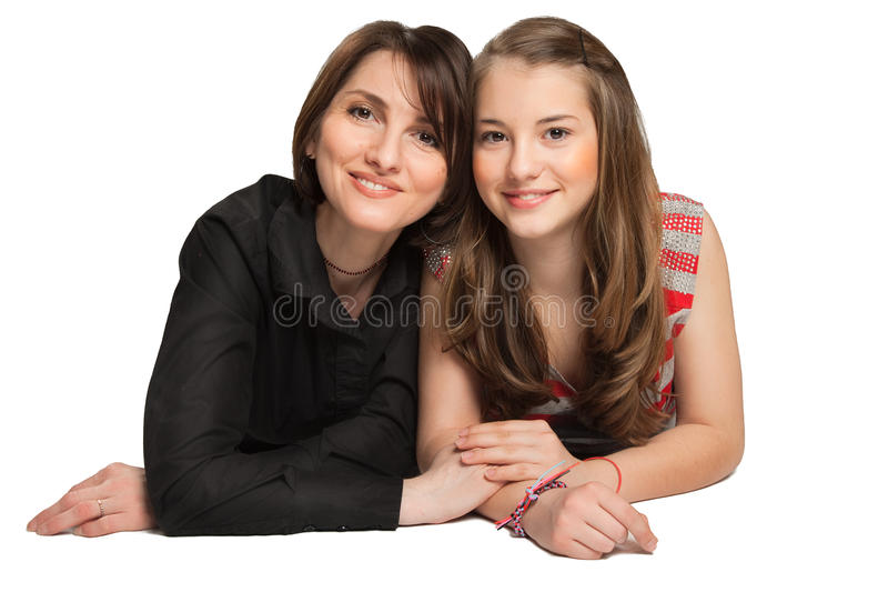 Download Mother and Daughter stock image. Image of happiness, isolated - 19136749