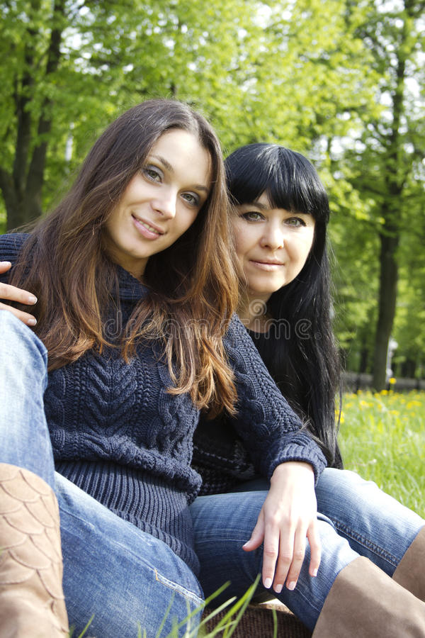 Download Mother and Daughter stock photo. Image of expressing - 19619302