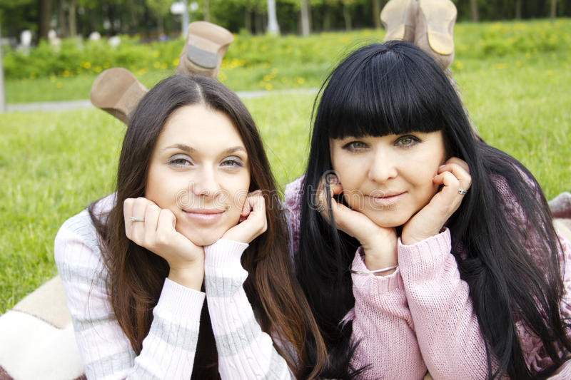 Download Mother and Daughter stock photo. Image of leisure, outdoor - 19652384