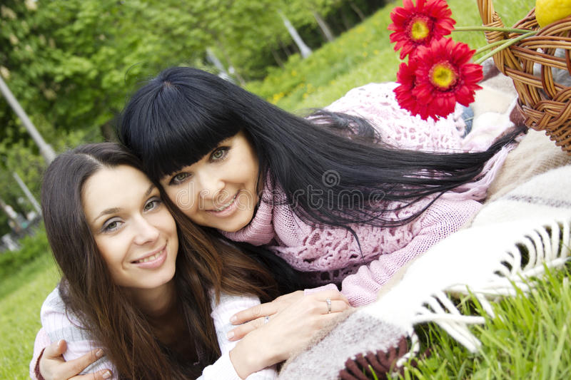 Download Mother and Daughter stock image. Image of leisure, portrait - 19652399