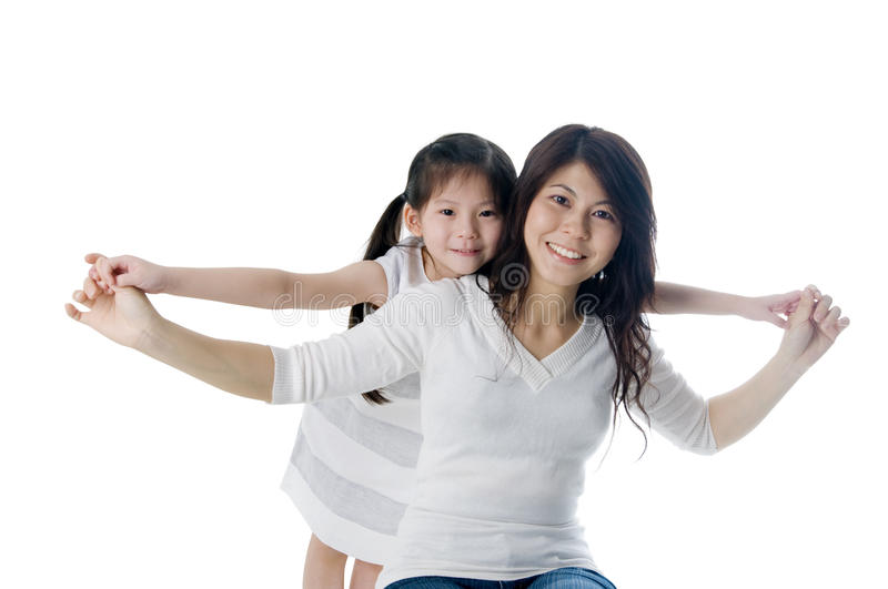 Download Mother and daughter stock image. Image of carrying, asian - 22099299