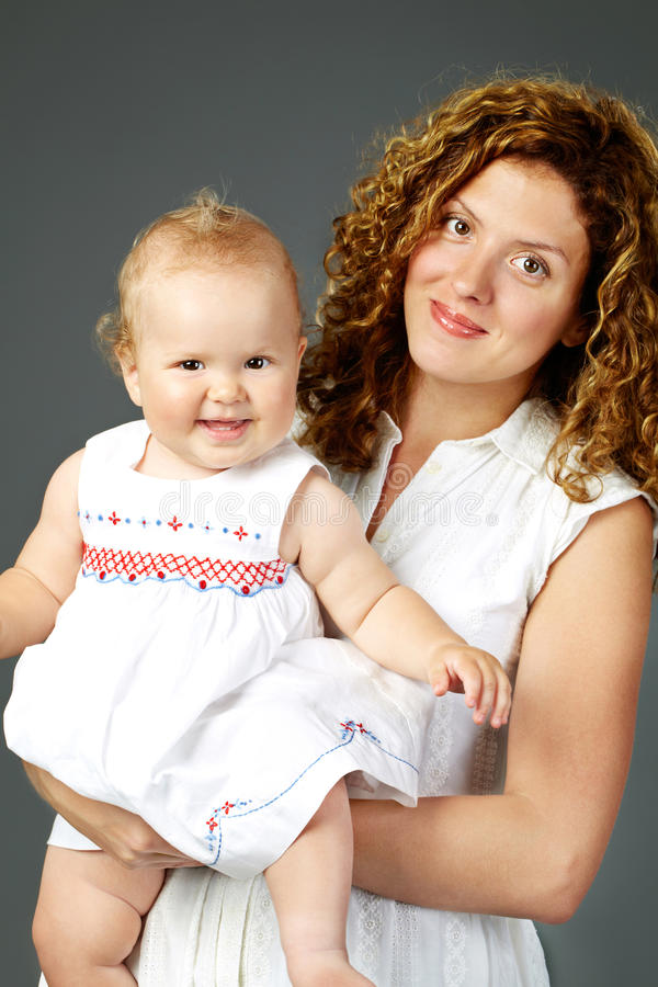 Download Mother and daughter stock image. Image of cute, mother - 22407097