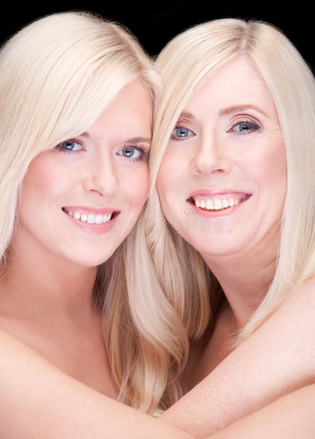 Download Mother and daughter stock image. Image of caucasian, isolated - 23094283