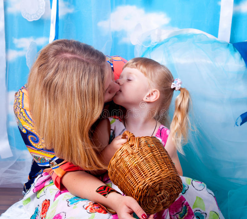Download Mother and daughter stock image. Image of girl, baby - 25942465