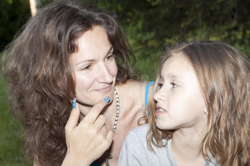 Download Mother and daughter stock photo. Image of natural, cute - 26061428