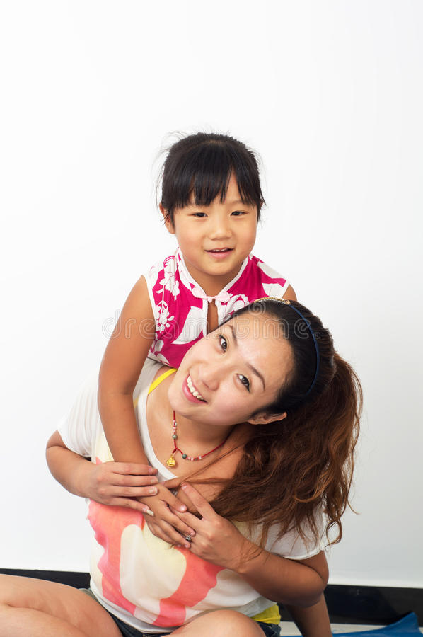 Download Mother and daughter stock image. Image of people, asians - 26336215