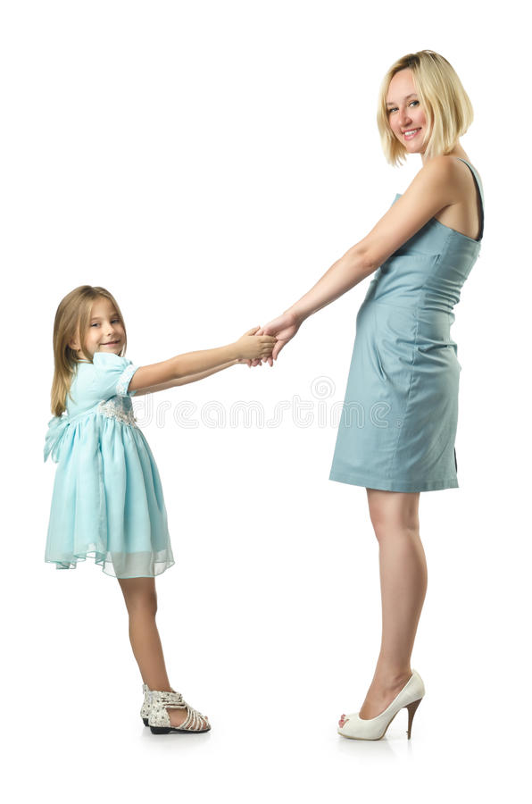 Download Mother with daughter stock image. Image of childhood - 26841853