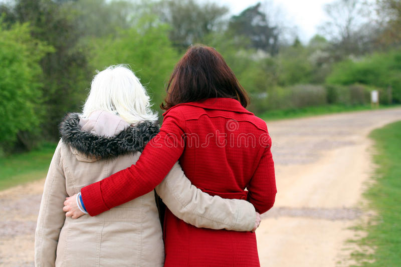 Mother and daughter. Unconditional love. royalty free stock image
