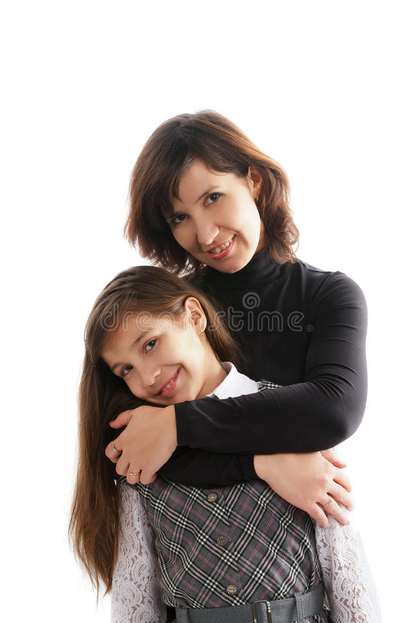 Download Mother and Daughter stock photo. Image of happiness, female - 28072200