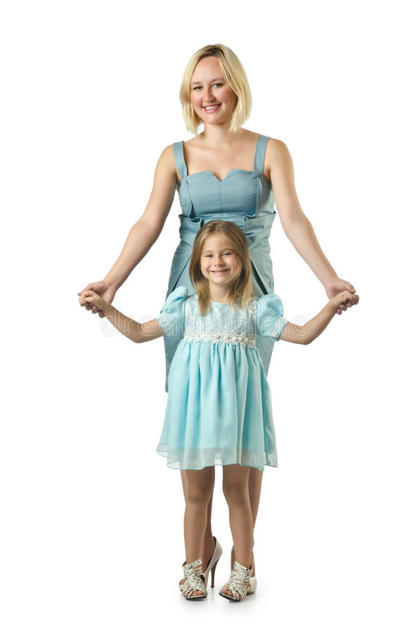 Mother With Daughter Royalty Free Stock Images