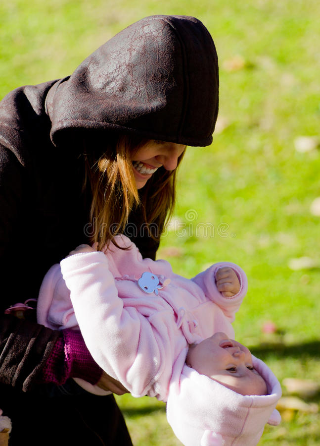 Download Mother and daughter stock photo. Image of park, happiness - 29048450