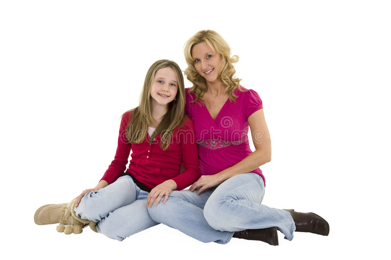 Download Mother And Daughter stock photo. Image of casual, caucasian - 4808810