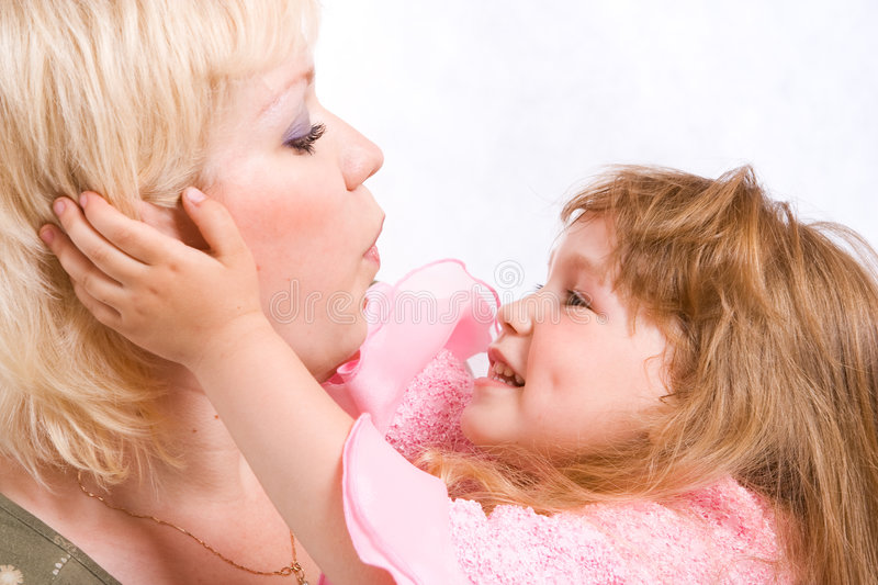 Download Mother and daughter stock image. Image of senses, mother - 5505075
