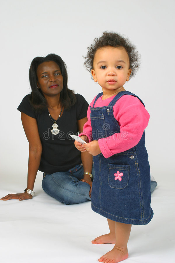 Download Mother and Daughter stock photo. Image of brown, look, happy - 630044