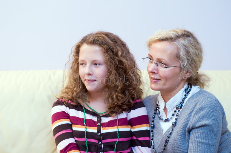 Download Mother and daughter stock image. Image of children, generation - 6694577