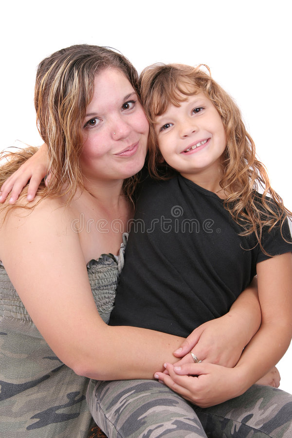 Download Mother and daughter stock photo. Image of mother, smiling - 7622444