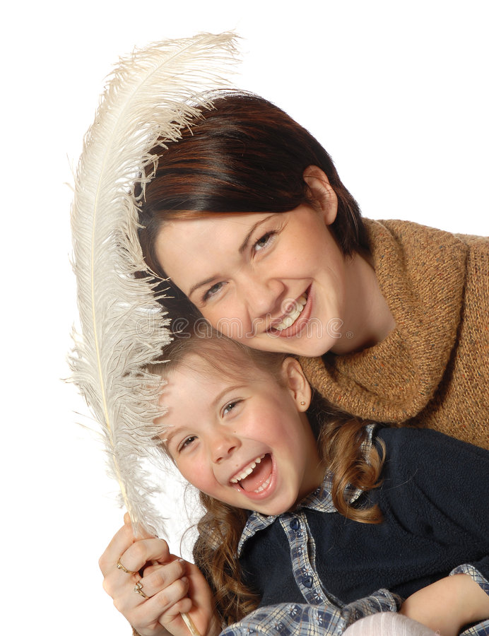 Download Mother and daughter stock image. Image of white, adult - 774715
