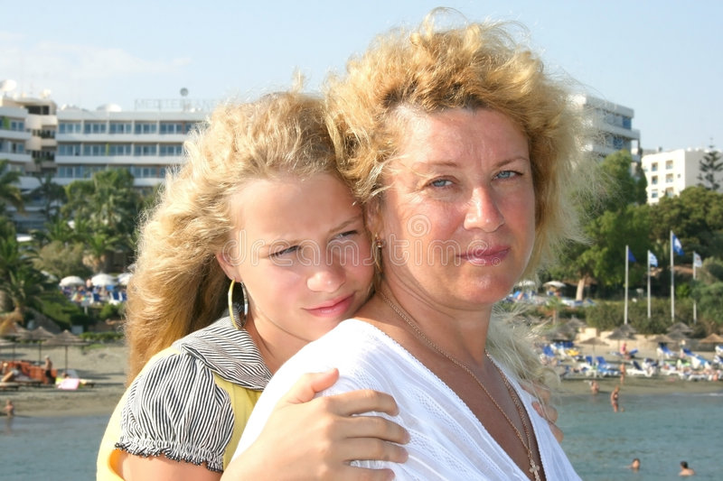 Download Mother and daughter stock photo. Image of person, chain - 8404832