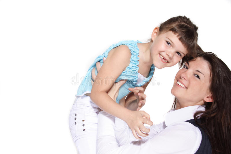 Download Mother and daughter stock image. Image of underage, infancy - 9693369