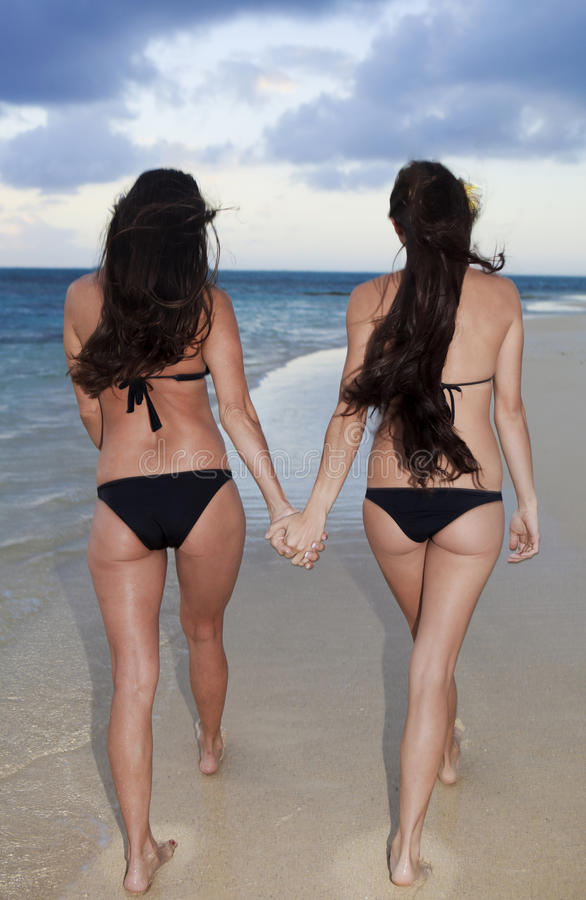 Download Mother And Daughter On The Beach Stock Photography - Image: 14482002