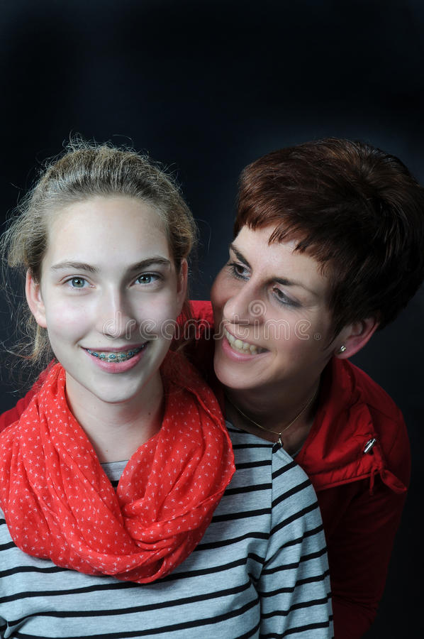 Download Mother and daughter stock photo. Image of dental, close - 34896488