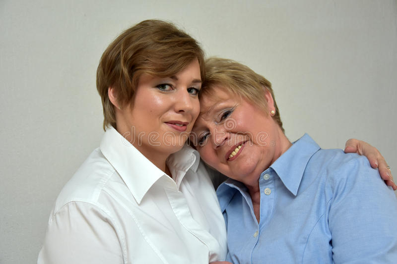 Mother and daughter. Best friends stock photography